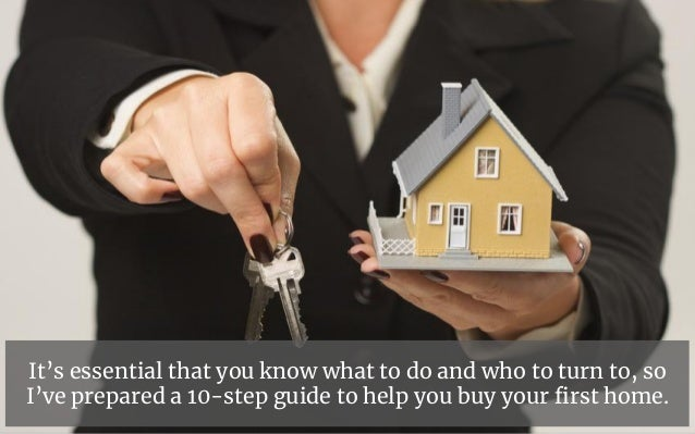 A Step by Step Guide to Buying  Your First Home Slide 3