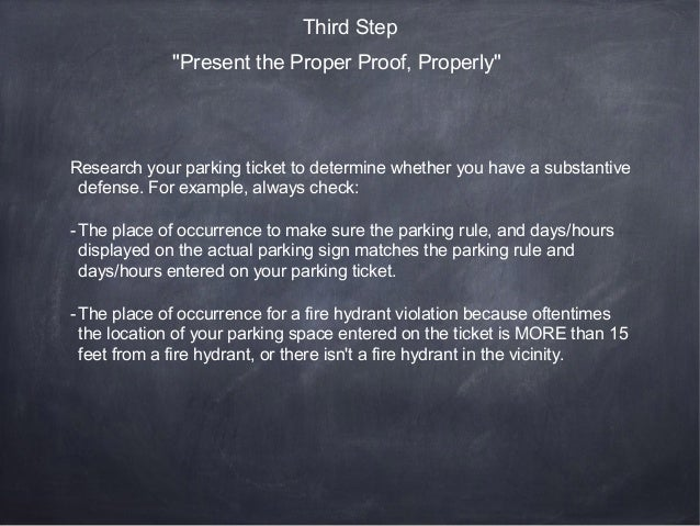 A Step By Step Guide To Fighting Nyc Parking Tickets