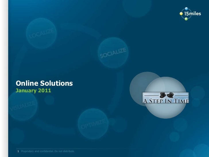 A Step In Time Online Solutions 01 11 Final
