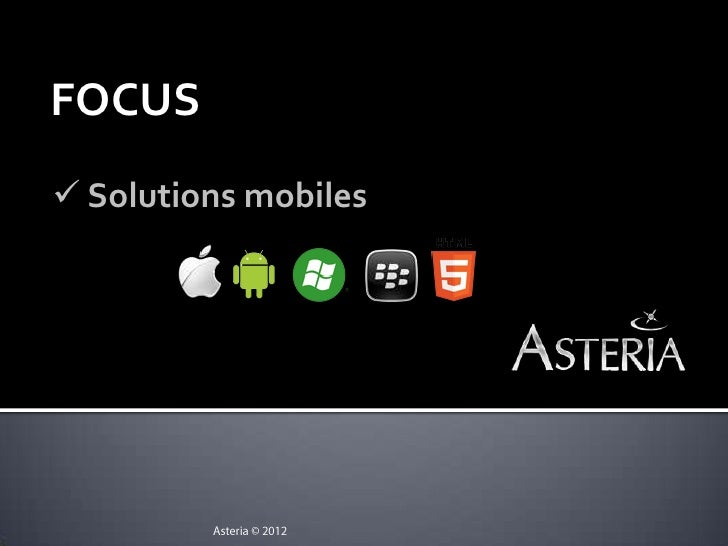 FOCUS Solutions mobiles