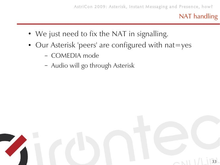 Asterisk Nat Yes