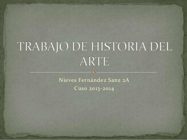 Nieves Fernández Sanz 2A Cuso 2013-2014