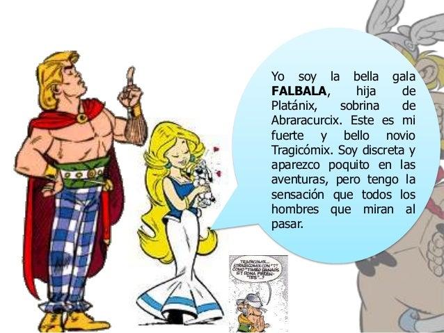 Asterix y obelix violeta snchez lpez