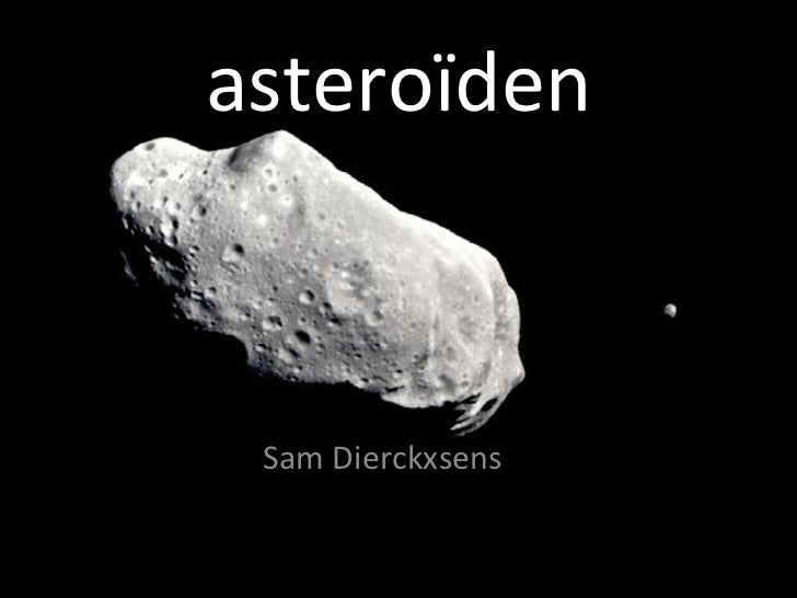 asteroïden Sam Dierckxsens