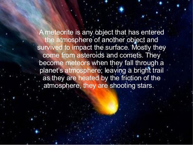 asteroids and meteorites - photo #1