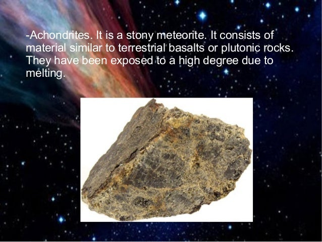 asteroids and meteorites - photo #13