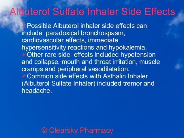 Albuterol Side Effects Weight Gain