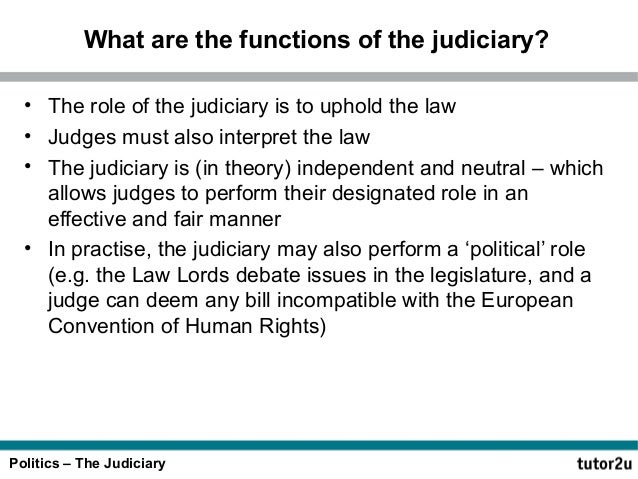 """the independence of the judiciary is Independence of the judiciary: accountability and contempt of court the law in the course of carrying out their primary functions"""" the rule of law upon which the."""