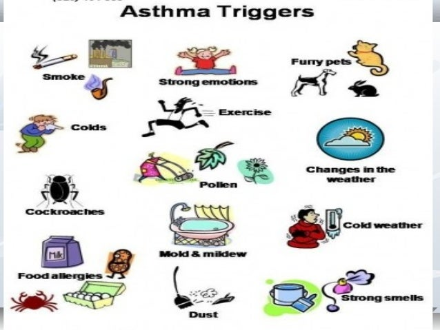 the signs causes and what triggers asthma Asthma symptoms asthma causes periods of wheezing,  signs the patient is having a serious attack and needs emergency  triggers that seem to initiate an.