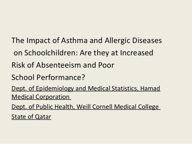 increasing frequency of pediatric asthma essay Introduction asthma is a chronic inflammatory airway disease with a high prevalence, around 10% in children and 5% in adults in western countries [1, 2]asthma is a major cause of disability and health resource utilisation, and reduces quality of life []this is partly caused by asthma exacerbations, which have a huge impact on patients and their families.