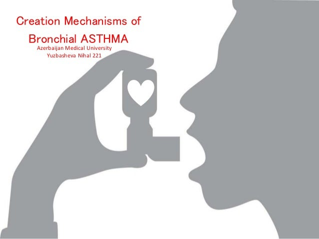 Azerbaijan Medical University Yuzbasheva Nihal 221 Creation Mechanisms of Bronchial ASTHMA