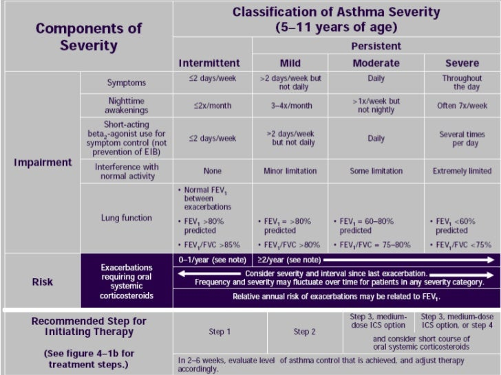 Asthma 2010 New Gina Guidelines[Pediatric]