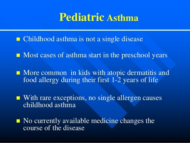 pediatric asthma case studies Sign up for insight alerts highlighting editor-chosen studies with the for the treatment of pediatric asthma case report in 2 pediatric.