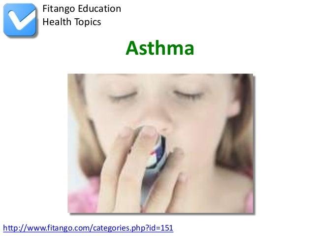 Fitango Education          Health Topics                               Asthmahttp://www.fitango.com/categories.php?id=151