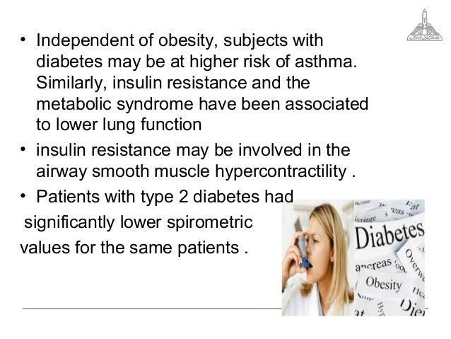 Asthma und diabetes