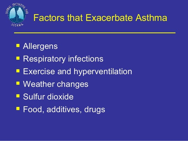 asthma 16 Asthma is ongoing (chronic) inflammation of airways in the lungs this inflammation makes the airways vulnerable to episodes of difficult breathing ( asthma attacks) common triggers of attacks include allergies, colds and exercise asthma in older children can interfere with sleep, school, sports and social.