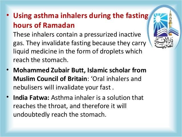 Asthma in Ramadan