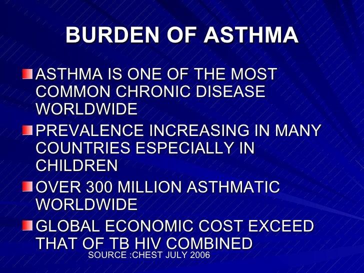 Asthma management Slide 2