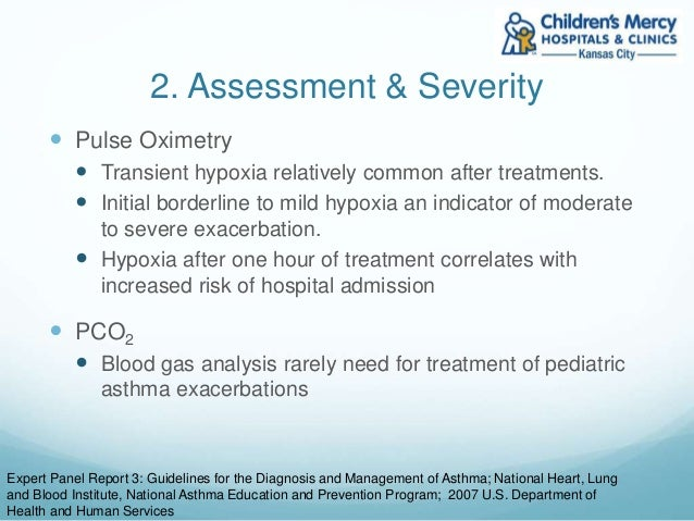 moderate to severe asthma ed treatment guidelines hne health