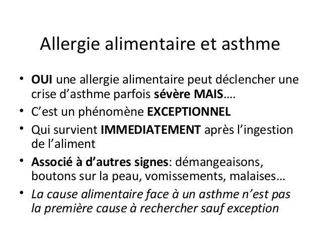 Asthmes de l'enfant