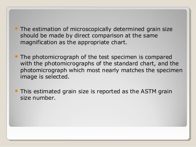 ASTM E 112 GRAIN SIZE MEASURING METHODS full standard, mecanical
