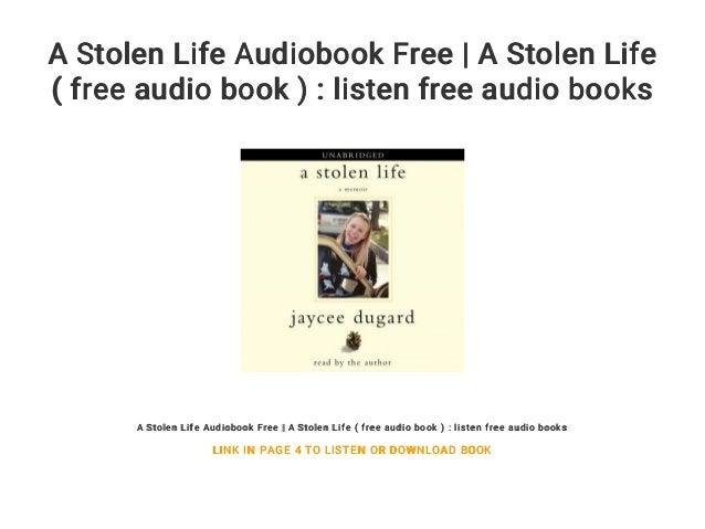 A Stolen Life Audiobook Free | A Stolen Life ( free audio book ) : li…