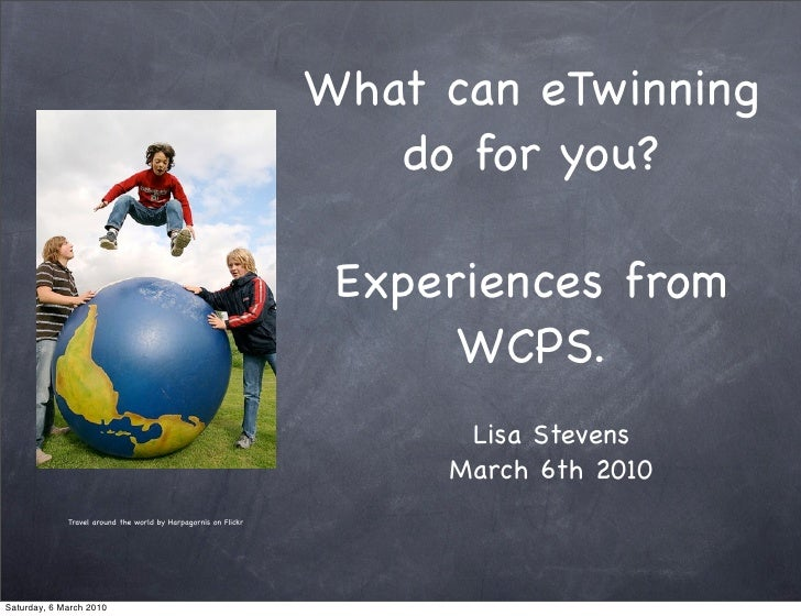 What can eTwinning                                                                    do for you?                         ...