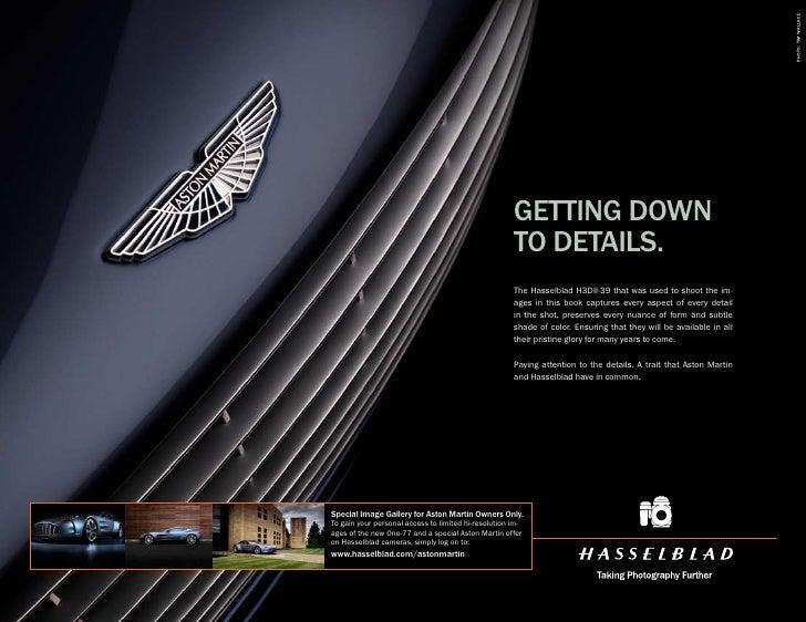 Aston Martin Advertising