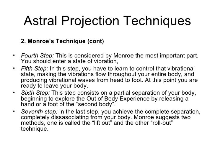 astral projection how to go back into your body
