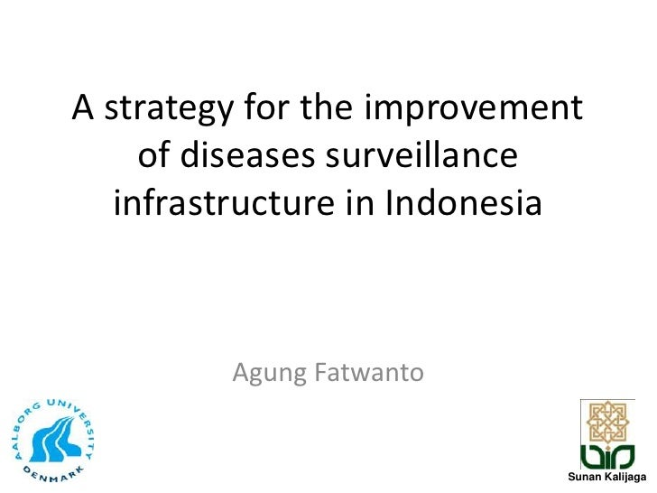 A strategy for the improvement of diseases surveillance infrastructure