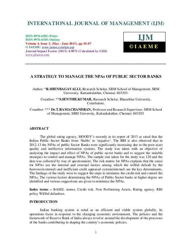 International Journal of Management (IJM), ISSN 0976 – 6502(Print), ISSN 0976 -6510(Online), Volume 4, Issue 3, May- June ...