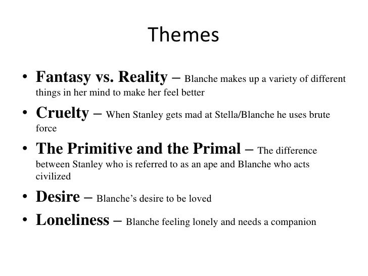 title essay desire Sexual desires are a common interest several people tend to have and blanche dubois significantly we will write a custom essay sample on a streetcar named desire specifically for you for only.