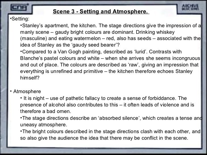 stage directions in a streetcar named desire