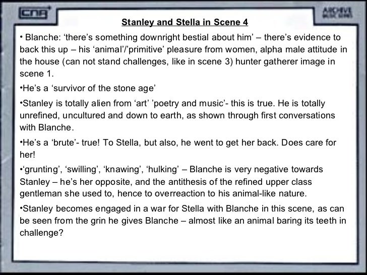 streetcar named desire stella and stanleys relationship poems