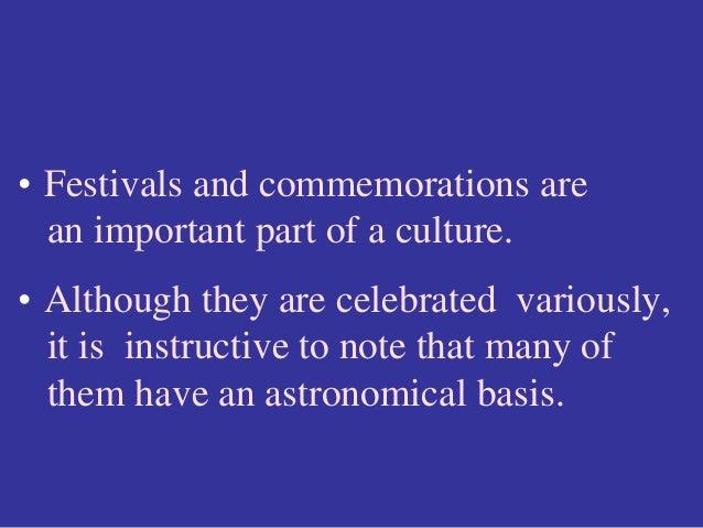 Astronomical basis of Indian festivals Slide 2