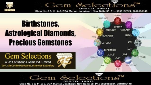 c2e3ac6d5247e Birthstones, Astrological Diamonds, Precious Gemstones