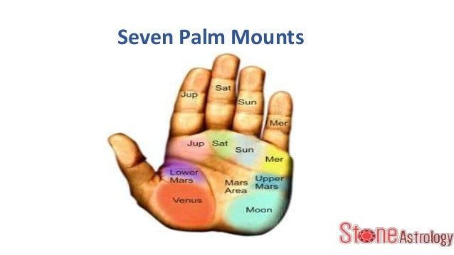 Role of Palm Mounts in Palmistry.