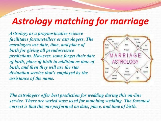 Match by date of birth for marriage