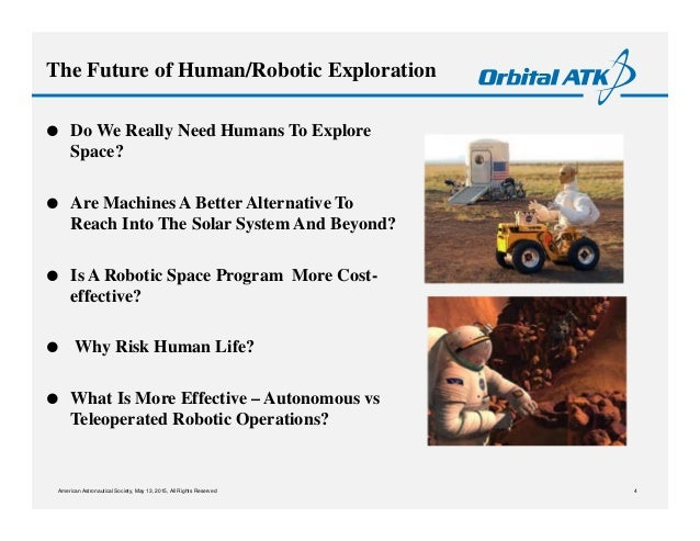 Astronauts and Robots 2015: Frank Culbertson, Orbital ATK