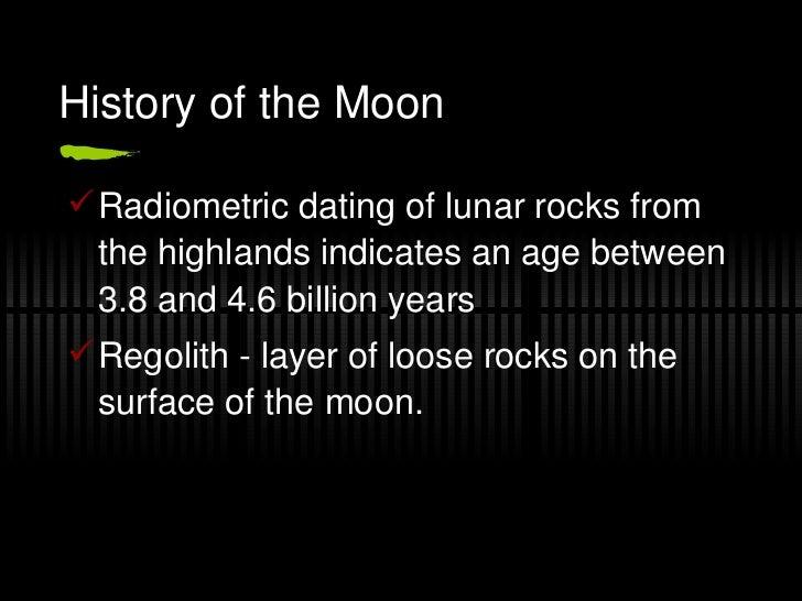 Radiometric dating of rocks