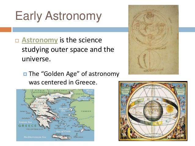 Astronomy lesson thursday