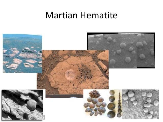Martian Hematite
