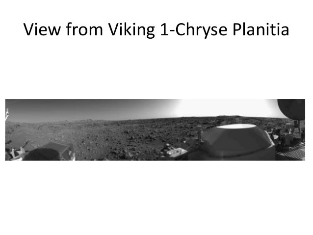 View from Viking 1-Chryse Planitia