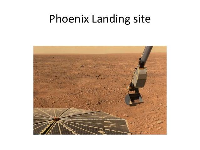 Phoenix Landing site