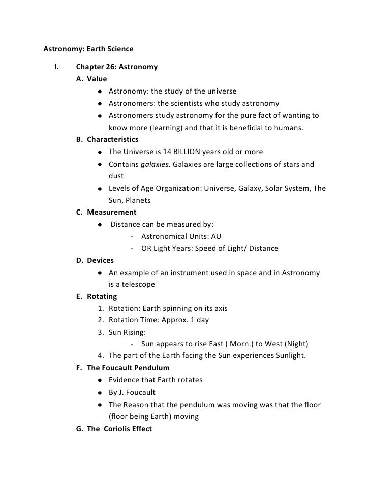 astronomy outline Astronomy course deals with the study of the universe, motion of the objects, historical astronomy, astronomical instruments astronomy high school outline.
