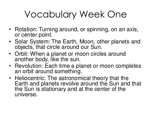 astronomy vocabulary - photo #7