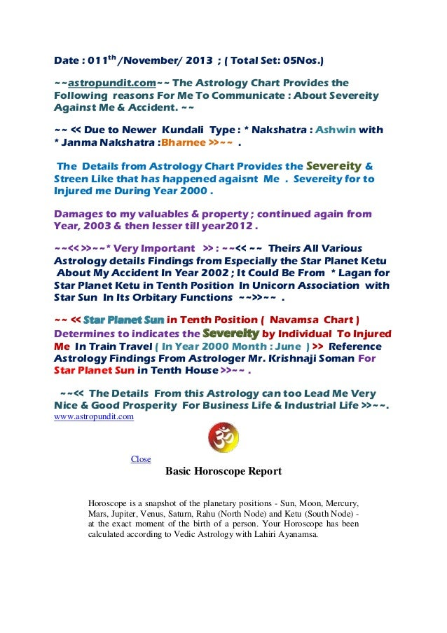 Astropundit com~~ the astrology chart provides the following reaso…