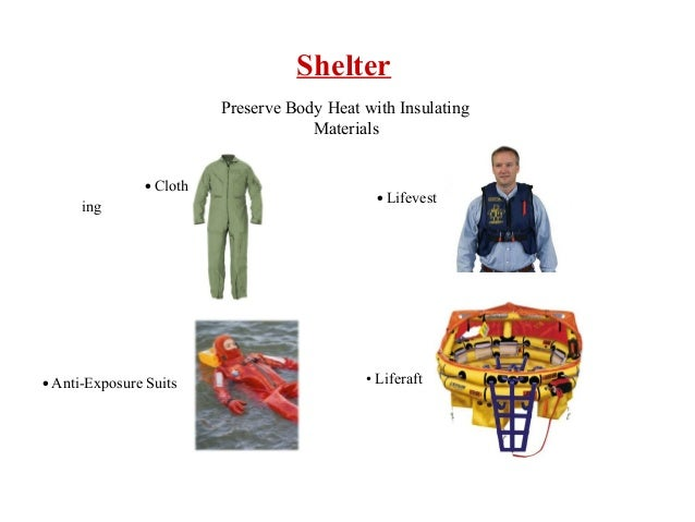 Survival position naked heat transfer