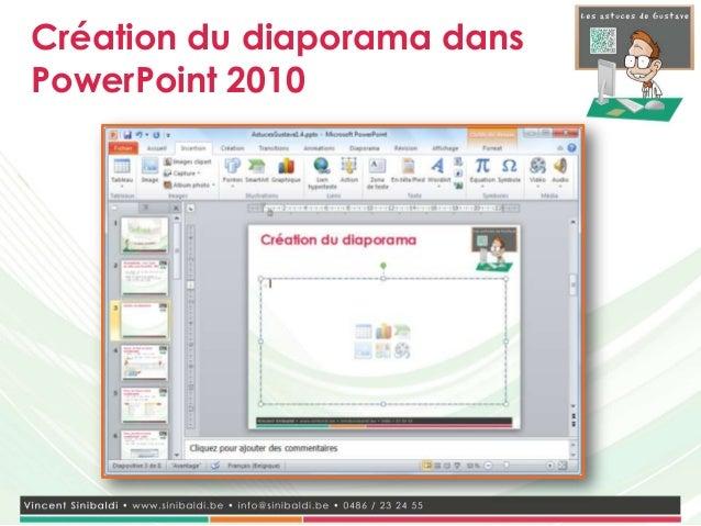 Astuces de Gustave 2.1 - Personnaliser un écran de veille Slide 3