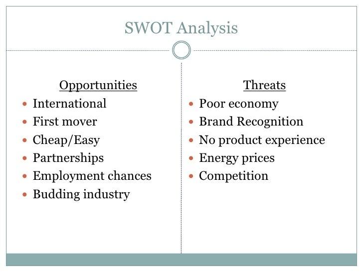 Swot analysis of plastic industry
